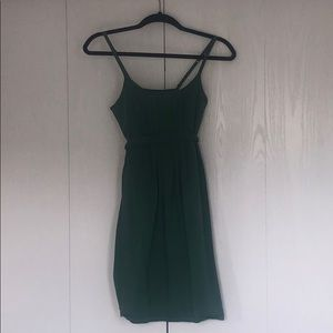 Army Green Cotton Dress